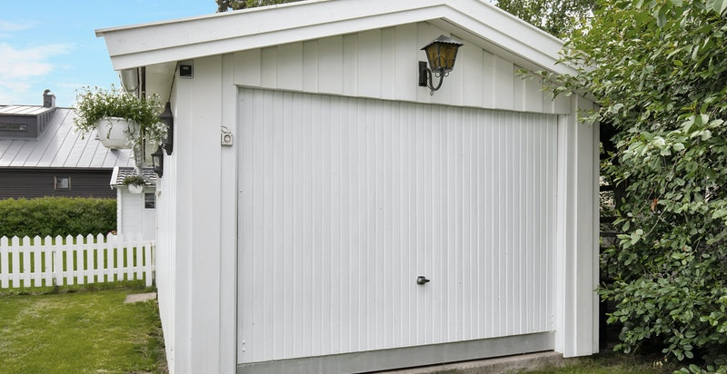 Garasje (brukt som lagring)