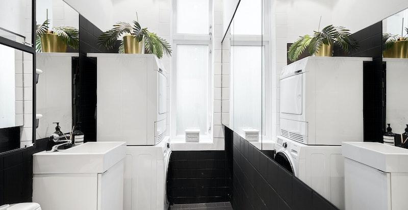 Bad nr. 2 (benyttet som vaskerom / gjestetoalett / bad til hybel)