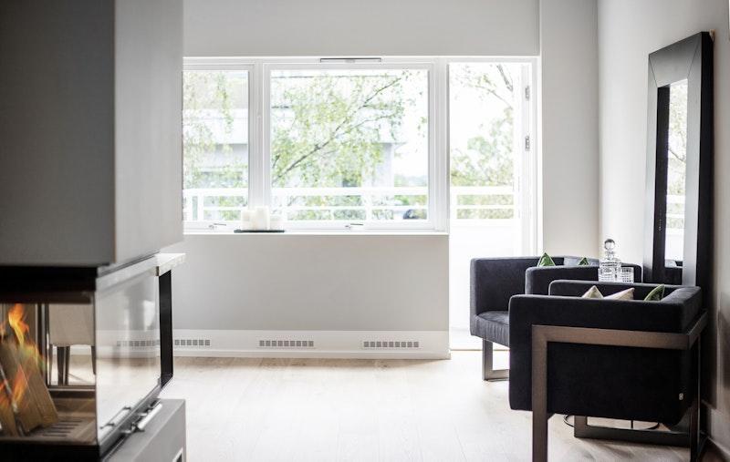Velkommen til Jacob Aalls gate 3C - en nyoppusset gjennomgående leilighet medhøy standard, sydvestvendt balkong, heis og peis.