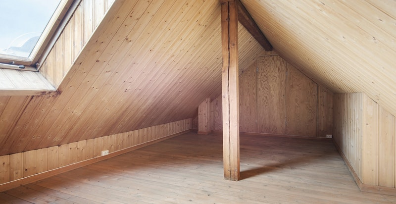 Innredet hems med adkomst fra stuen (30 m² gulvareal)