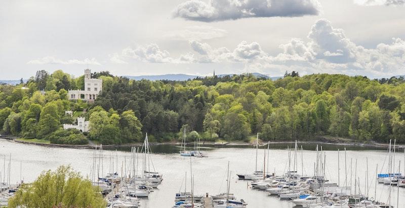 Utsikt mot Bygdøy og Frognerkilen