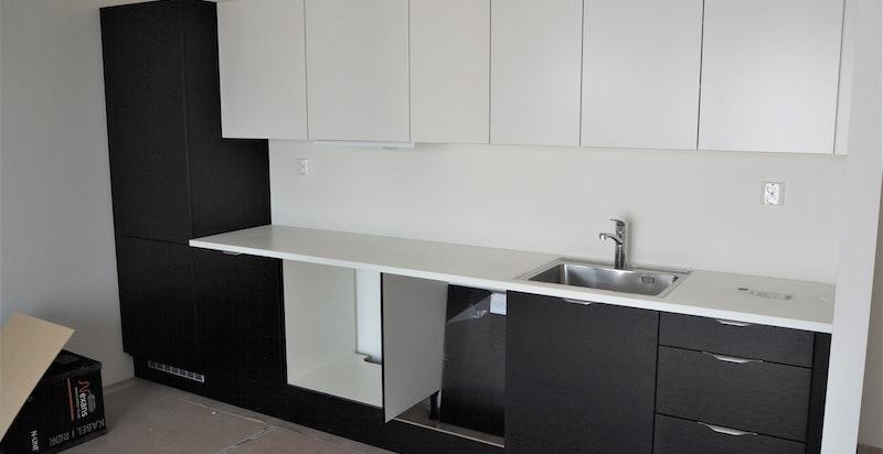 Bilde tatt av kjøkken.