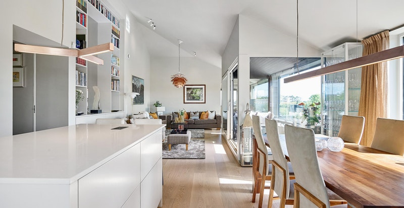Kjøkken mot stue