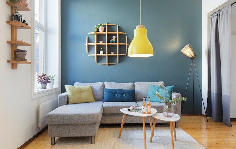 Lys og attraktiv 1(2)-roms med smart planløsning & hems.