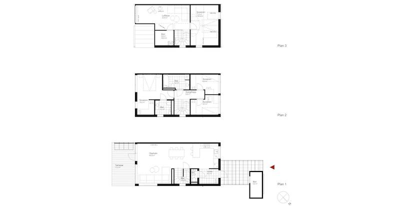 Salgstegning hus A5
