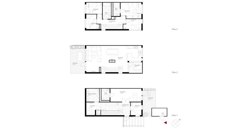 Salgstegning hus B2