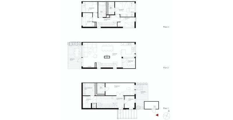 Salgstegning hus C2