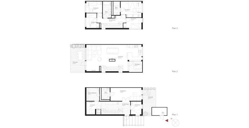 Salgstegning hus F2