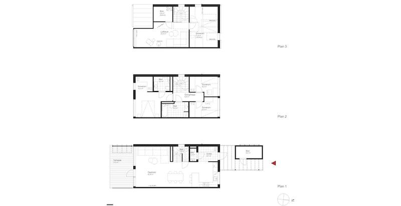 Salgstegning hus i3