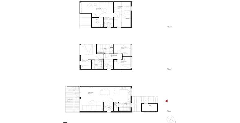 Salgstegning hus J1