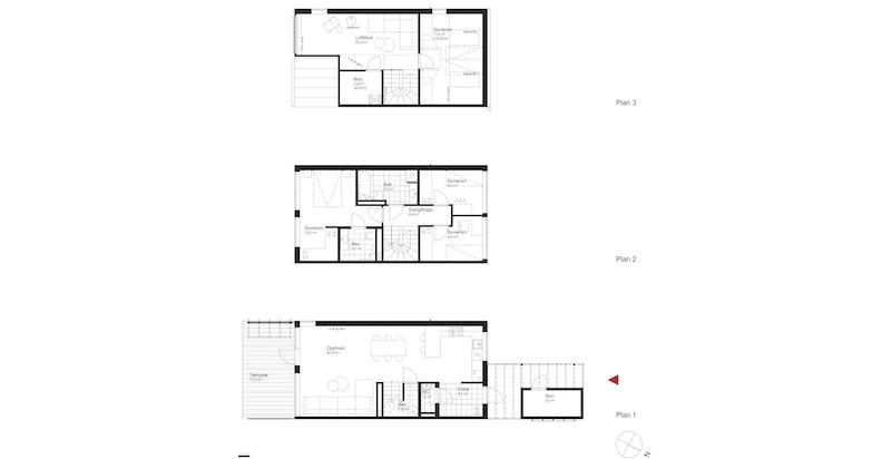 Salgstegning hus J3