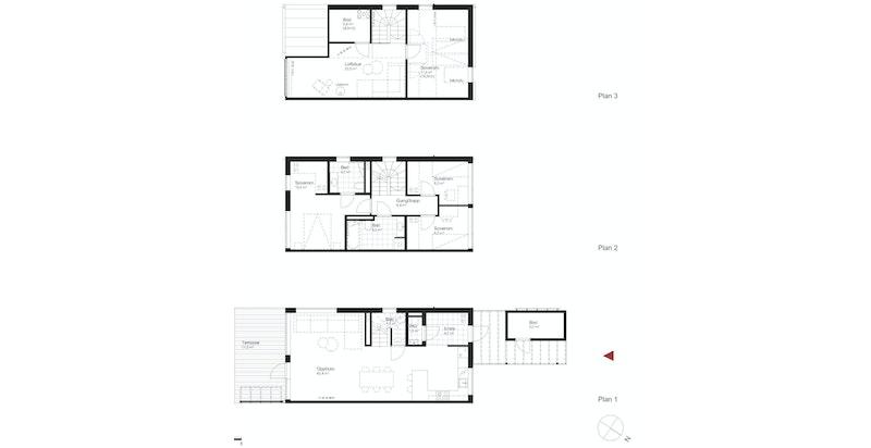 Salgstegning hus K2