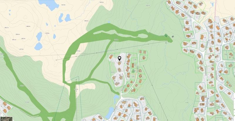 Soria-Moria 35 zoomet inn på kommunekart.com