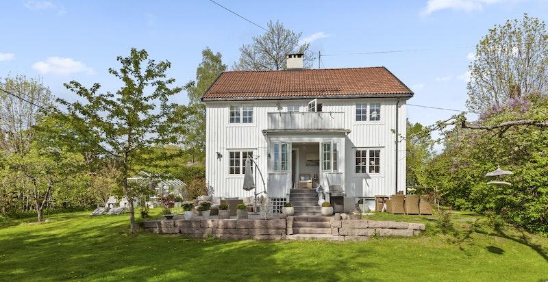 Huset har siden eier kjøpte det i 2007 gjennomgått en vesentlig oppgradering.