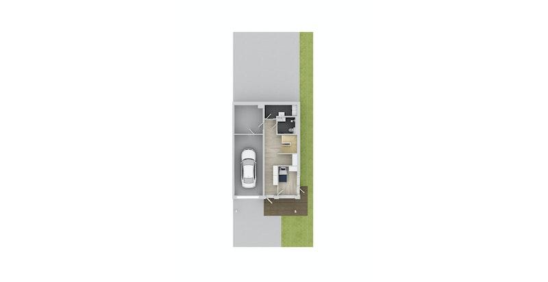 Hus E104_Plan 1