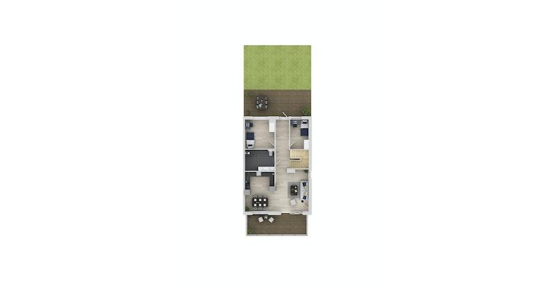 Hus E104_Plan 2