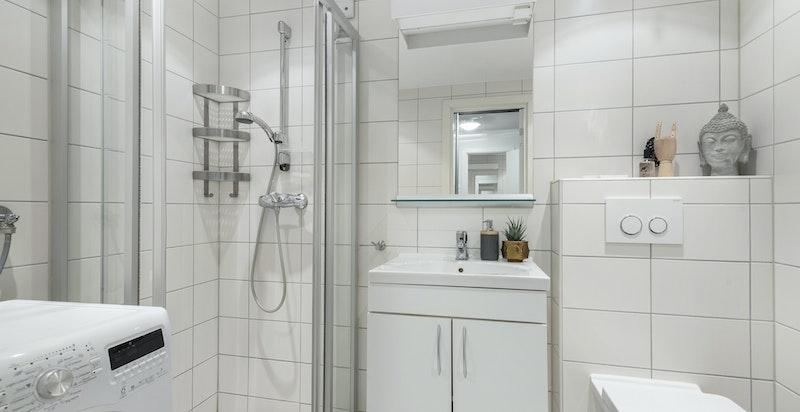 I tillegg så er det selvfølgelig også opplegg for vaskemaskin og evt. tørketrommel dersom du ønsker.