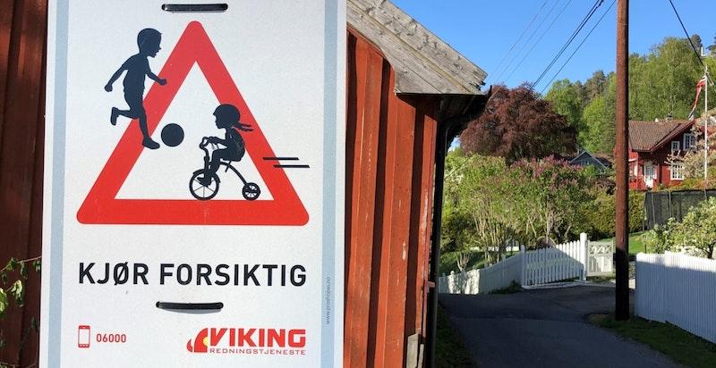 Flott turområder og idyllisk beliggende mellom Flaskebekk og Nesoddtangen