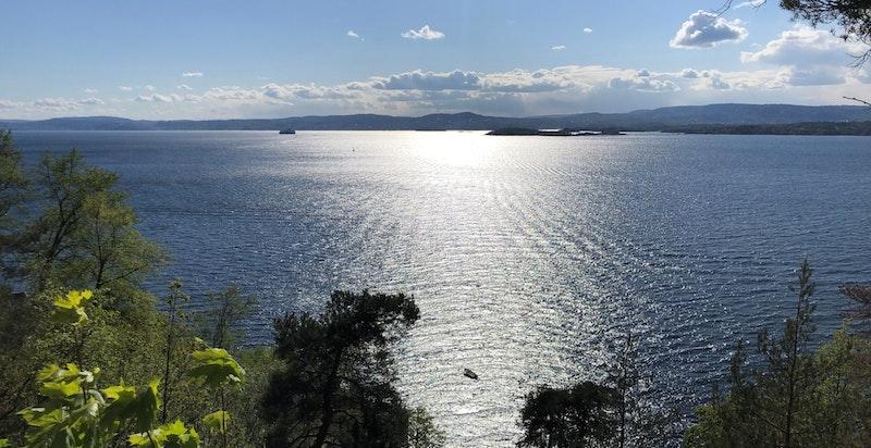 Fantastisk panoramautsikt og solforhold fra eiendommen