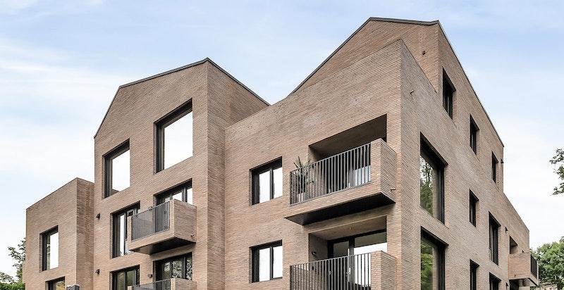 Fasade Villa Ask - 15 eksklusive parkleiligheter!