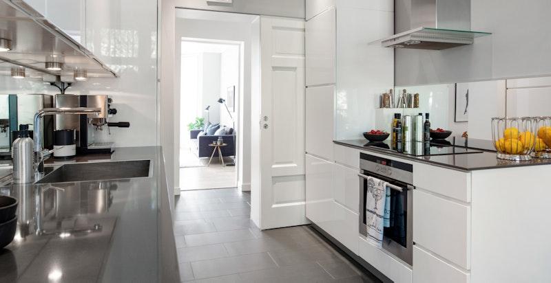 Stilrent og moderne kjøkken