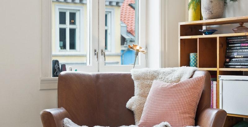 Attraktiv, delikat og særegen loftsleilighet over 2 plan