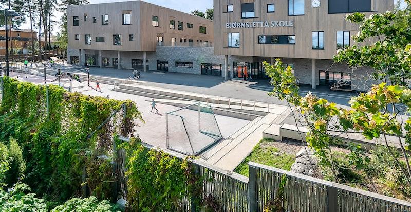 Like ved finner man flotte Bjørnsletta skole (1-10 kl.)