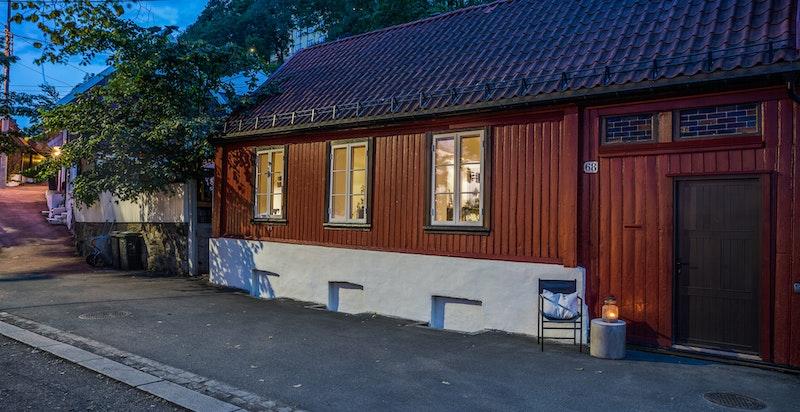 Fasade fra Fredensborgveien