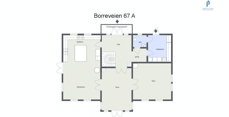 Borreveien 67 A - 1. Etasje
