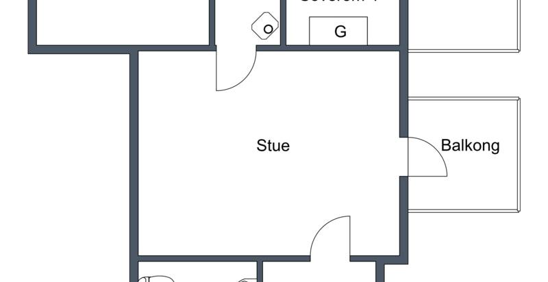 2. etasje planskisse