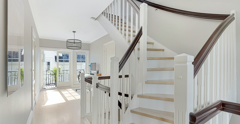 Trappegang mot balkong
