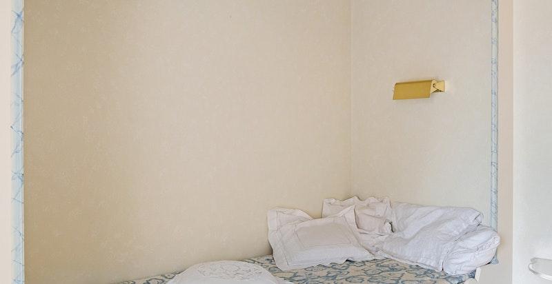Plassbygget seng på barnerom