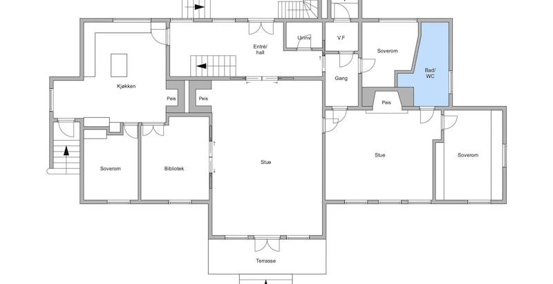 Alternativ planskisse 1.etasje