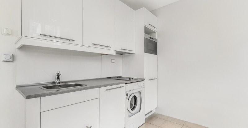 Kjøkken/stue - hybel 2