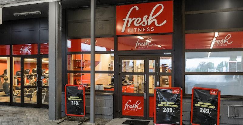 Fresh fitness ligger også i Østerås kjøpesenter