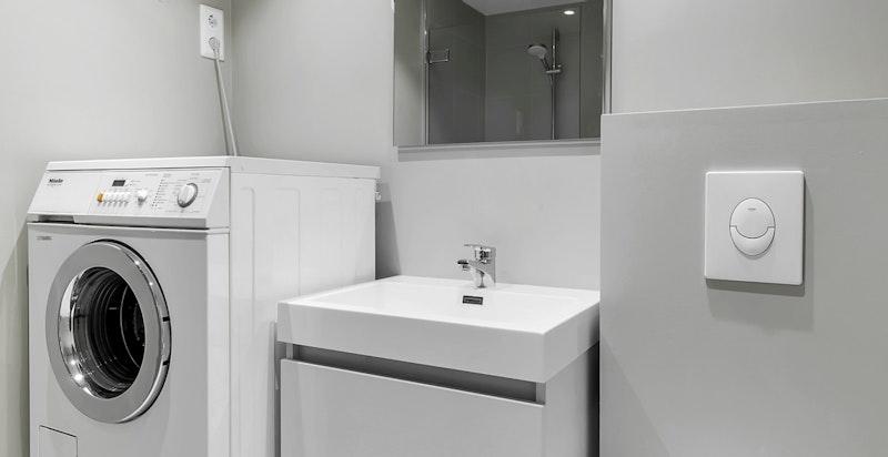 Dusjbad/wc i annekset