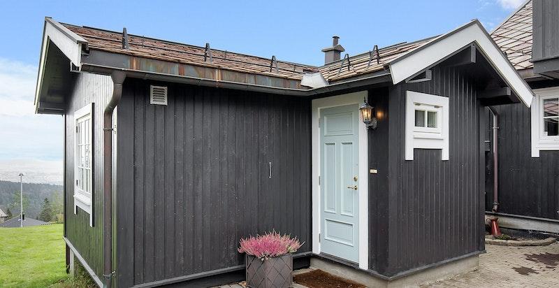 Eget lite hus med stue/kjøkken, sovealkove og bad/wc