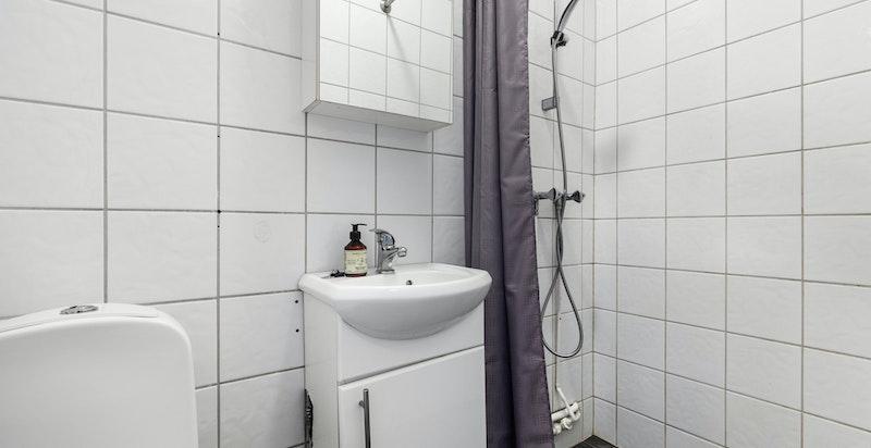 Flislagt bad/wc.