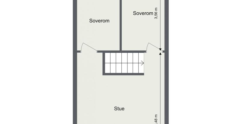 Floorplan letterhead - Veitvetveien 28 - 4. Etasje - 2D Floor Plan (1)