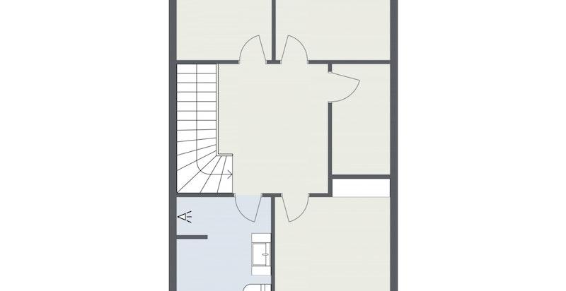 Floorplan letterhead - KROKSSTIEN 8 - 2. Etasje - 2D Floor Plan