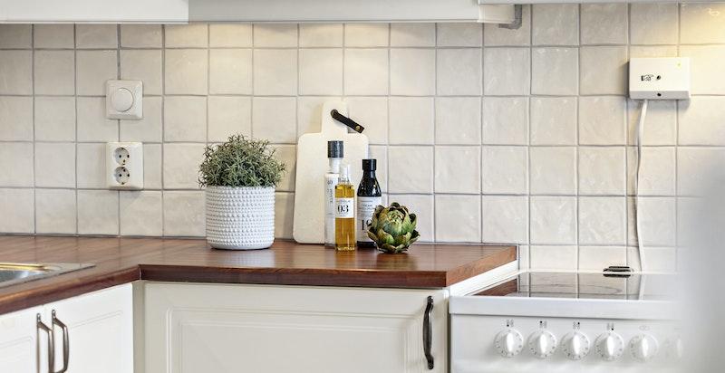 Kjøkkenet er fra Sigdal