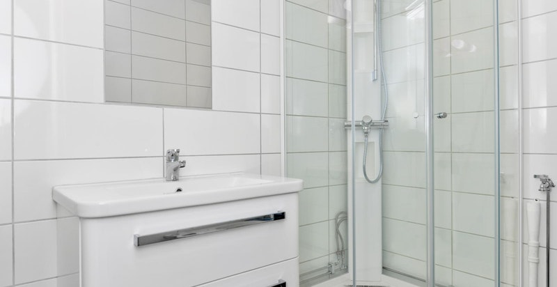 Bad med dusj