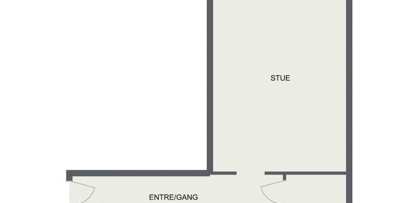 Floorplan letterhead - Vøyensvingen 15 - 1. Etasje - 2D Floor Plan (1)