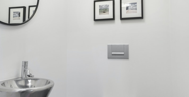 Separat wc i underetasje