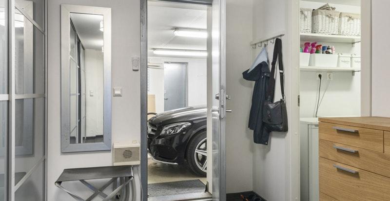 Direkte adkomst til garasje