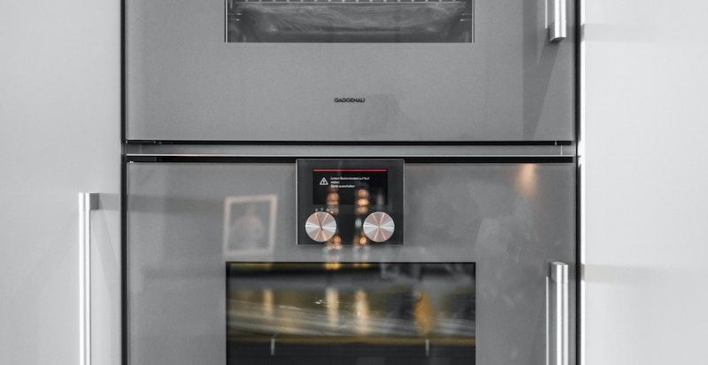 Kjøkkenet er kvalitetsmessig utstyrt med integrerte hvitevarer fra Gaggenau