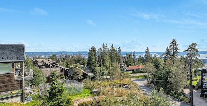 Utsiktsbilde fra balkong