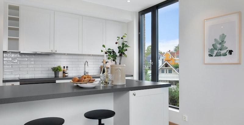 Kjøkkenøy bidrar til sosial sone