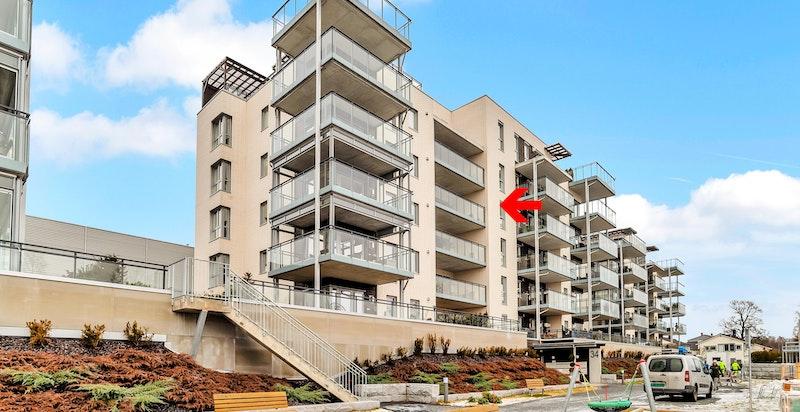 Leiligheten er beliggende i 4.etasje.
