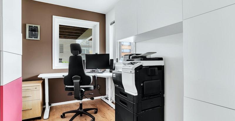 Soverom 2 som i dag er brukt til kontor.